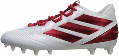 Adidas Freak Carbon Low - White/Power Red/Active Red