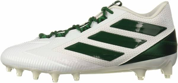 Adidas Freak Carbon Low - White Dark Green White