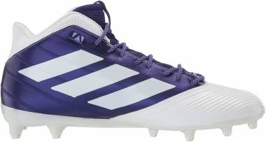 Adidas Freak Carbon Mid - White/Collegiate Purple/Chalk Purple