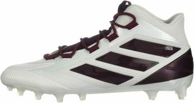Adidas Freak Carbon Mid - White/Maroon/Collegiate Burgundy