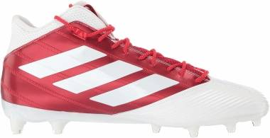 Adidas Freak Carbon Mid - White/Power Red/Active Red (F97427)