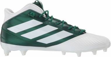 Adidas Freak Carbon Mid - White/Dark Green/Bold Green