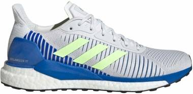 Adidas Solar Glide ST 19 - Crystal White Signal Green Glory Blue (EE4291)