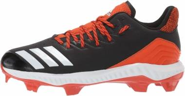 Adidas Icon Bounce TPU  - Black/White/Collegiate Orange