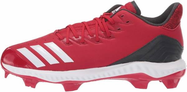 Adidas Icon Bounce TPU  - Power Red White Carbon