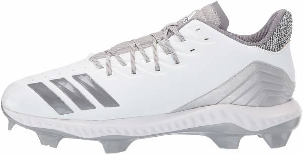 Adidas Icon Bounce TPU  - White Grey Grey
