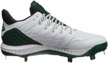 Adidas Icon Bounce - White/Dark Green/Carbon (CG5251)