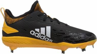 Adidas Adizero  Afterburner 5   - Black/Cloud White/Collegiate Gold