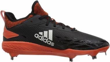 Adidas Adizero  Afterburner 5 - Black Cloud White Collegiate Orange (AQ0096)