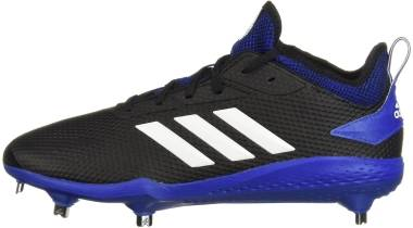 Adidas Adizero  Afterburner 5   - Black Cloud White Collegiate Royal