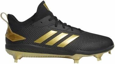 Adidas Adizero  Afterburner 5   - Black/Gold Metallic/Gold Metallic