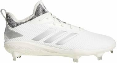 Adidas Adizero  Afterburner 5   - Cloud White/Grey/Grey