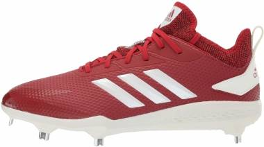 Adidas Adizero  Afterburner 5   - Power Red Cloud White Black