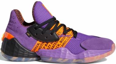 Adidas Harden Vol. 4 - Active Purple/Black/Solar Orange (FX2084)