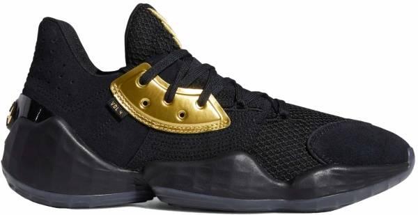 Adidas Harden Vol. 4 - Black/Gold Metallic (EF8648)