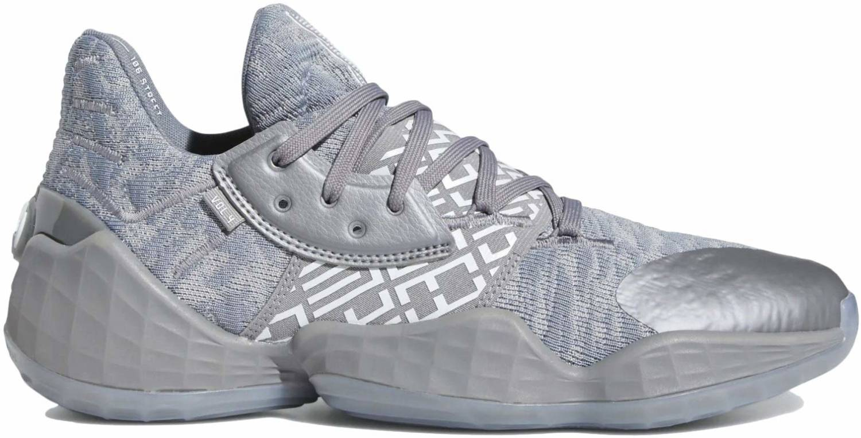 grey basketball shoes
