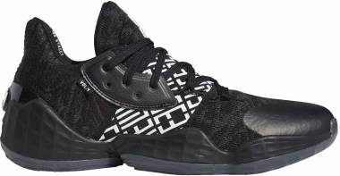 Adidas Harden Vol. 4 - Black/White/Black (EH2410)