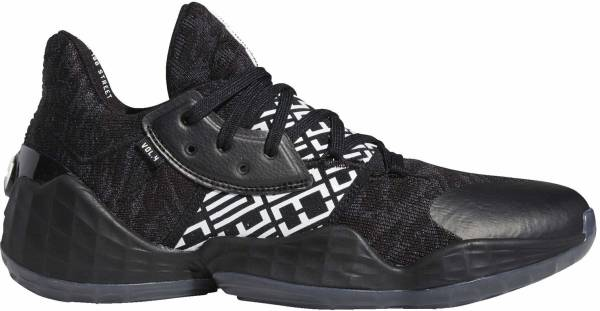 Adidas Harden Vol. 4 - Black/White/Black