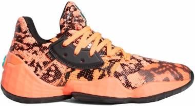 Adidas Harden Vol. 4 - Signal Coral / Core Black / Signal Coral (FV4151)