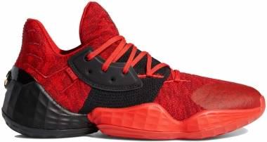 Adidas Harden Vol. 4 - Red/Black/Power Red (EF0999)