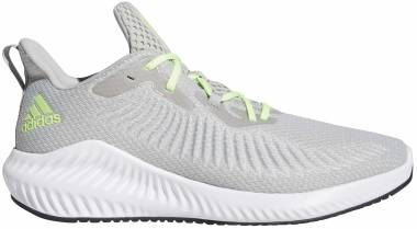 Adidas Alphabounce+ - Grey/Signal Green/Grey (EG1450)