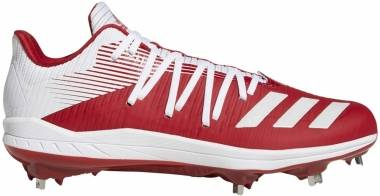 Adizero Afterburner 6  - Power Red/Ftwr White/Silver Met.