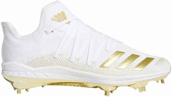 Adidas Afterburner 6 - Cloud White / Gold Metallic / Cloud Whit