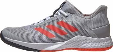 Adidas Adizero Club - Grey/Solar Red/Ink (FU8090)