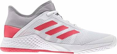 Adidas Adizero Club - Light Granite Shock Red White