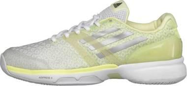 Adidas Adizero Ubersonic - White Silver Frozen Yellow (B33478)
