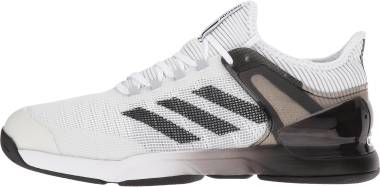 Adidas Adizero Ubersonic 2.0 - White/Core Black/Grey Two
