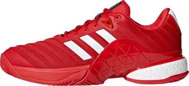 Adidas Barricade 2018 Boost - Red Ftwbla Escarl 0 (CM7830)