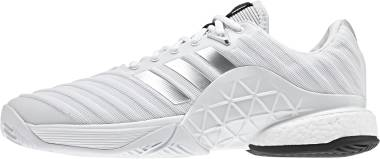Adidas Barricade 2018 Boost - White/Silver (DB1570)
