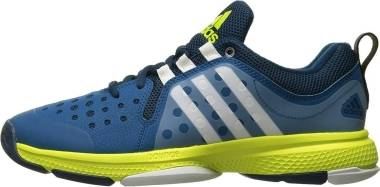 Adidas Barricade Classic Bounce  - Blue Blue White Yellow Blue White Yellow (AQ2282)