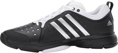 Adidas Barricade Classic Bounce  - Core Black Metallic Silver White