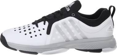 Adidas Barricade Classic Bounce  - White Metallic Silver Black (AQ5232)
