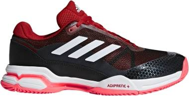 Adidas Barricade Club - Scarlet/Footwear White/Core Black (AH2086)