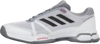 Adidas Barricade Club - Footwear White/Core Black/Grey (CM7782)