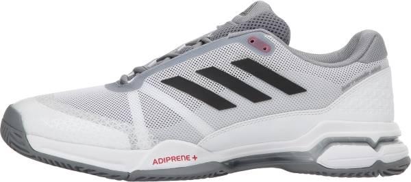 Adidas Barricade Club - Footwear White/Core Black/Grey (CM7782)