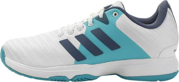 Adidas Barricade Court - White/Tech Ink/Hi-res Aqua