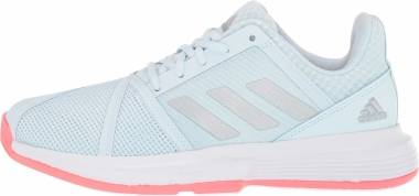 Adidas CourtJam Bounce - Sky Tint/Silver/Pink (FU8146)
