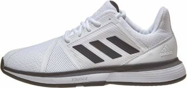 Adidas CourtJam Bounce - White Black Matte Silver