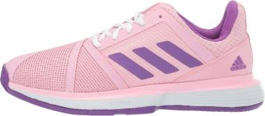 Adidas CourtJam Bounce - True Pink/Active Purple/White
