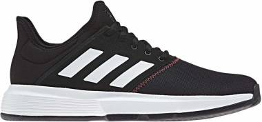 Adidas GameCourt - Black/White/Shock Red