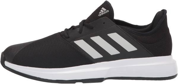 Adidas GameCourt - Black/White/Shock Red
