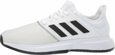 Adidas GameCourt - White/Black/Grey (CG6336)