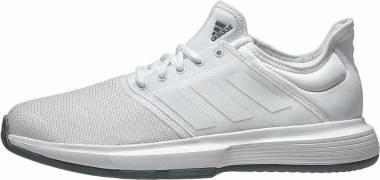 Adidas GameCourt - Blanc Blanc Bleu Nuit