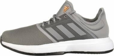 Adidas GameCourt - Grey/Grey/Black