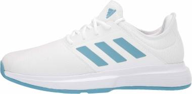 Adidas GameCourt - White/Hazy Blue/Halo Blue (FX1552)