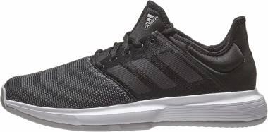 Adidas GameCourt - Black Black Light Grey Heather